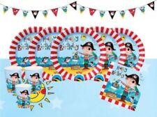 Decoración y menaje piratas cumpleaños infantil para mesas de fiesta