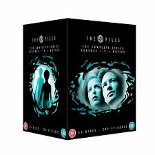 THE X FILES COMPLETE SERIES 1-9 1 2 3 4 5 6 7 8 9 + 2 Movies DVD Box Set Xfiles