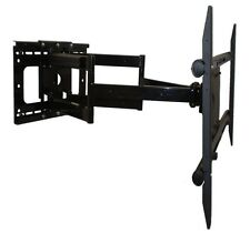 """Dual Arm 31.5"""" Extension Articulating Wall Mount Bracket for TV 65"""" 70"""" 75"""""""