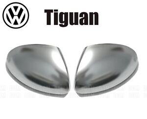 Exterior Mirror Look R Aluminum VW Tiguan Sharan Yeti (Retro-Chrome-Mat-Alu)