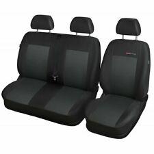 Sitzbezüge Sitzbezug Schonbezüge für Skoda Rapid Schwarz Modern MC-1 Komplettset