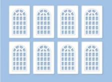 Ratio 523 OO Gauge Industrial Windows