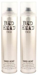 TIGI Bed Head Hard Head Hard Hold Hair Spray 385 ml Pack Of 2
