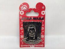 DARTH VADER- HUMBUG MERRY SITHMAS HOLIDAY 2014 STAR WARS Disney PIN NEW 106221