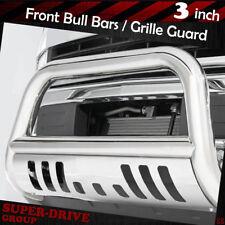 "3"" Bull Bar Grille Guard For 2011-2017 Chevy Silverado GMC Sierra 2500HD 3500HD"