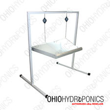 Sunleaves MINI Grow Light Stand will Support 2' t5 Grow Lights & Refectors