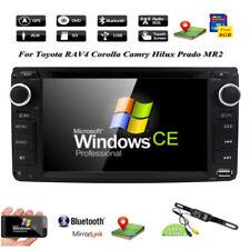 HD Car Indash DVD Player GPS Radio Stereo for Toyota RAV4 Hilux Yaris 2006-2012