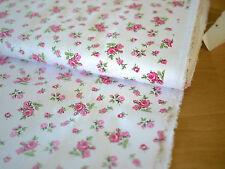 HILCO Fabric, Cotton, HILDE, Flowers, Roses, Small roses, BW Popline