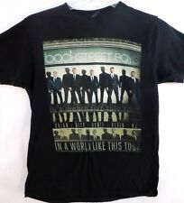 Backstreet Boys-Concert T-Shirt-2014 In A World Like This Tour, Adult Medium