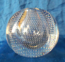 A.  D. Copier Designed Crystal Nail Globe by Neerdam Glaswerk