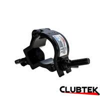 Black Half Coupler Light Bar O-Clamp Truss Rigging 35mm 75Kg Duratruss UK