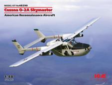 ICM 48290 1/48 Cessna O-2a Skymaster American Reconnaissance Aircraft Plastic MO