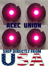 4 X High Quality MG 1/100 QANT Raiser Gundam PINK LED Lights - U.S.A. SELLER