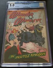Wonder Woman #16 CGC 5.0 VG/FN OW/WH 1946 - 4 Page Madame Curie Feature