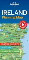 Lonely Planet Ireland Planning Map by Lonely Planet 9781787014541   Brand New