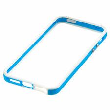 Apple iPhone 5/5S/SE Paragolpes Estuche Luz Azul/Blanco