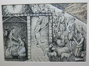 Arts & Crafts Religious Lamb of God Angels Jerusalem Holy Land Early 20th Cent