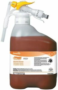Diversey Stride Neutral Cleaner RTD Citrus Scent 5 Liters