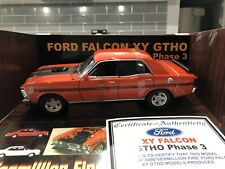 FORD FALCON XY GTHO Phase 3 1:18 scale, Vermillion Fire Red.