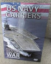 US Navy Carriers DVD Weapons of War Series NEW