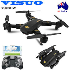 VISUO XS809HW WiFi FPV 720P Wide Angle HD Camera 6 Axis Selfie RC Foldable Drone