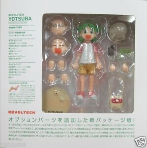 Used Kaiyodo Yotsubato! Yotsuba Revoltech Renewal Package Box PVC From Japan