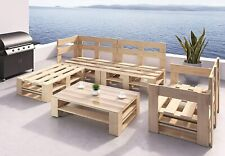 Palettenmöbel Holz Lounge Gartenmöbel Indoor und Outdoor Europaletten