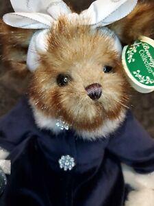 "The Bearington Collection Bear Sandra 14"" Plush"