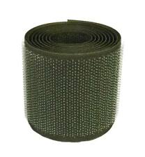 2 m. Cinta cierre coser 50mm verde oliva pincho hook green olive drab 5 cm