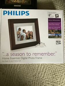 "Philips DIGITAL PHOTO FRAME 8"" Brand New In Box!"