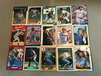NN) Lot of 175 GEORGE BRETT Baseball Cards TOPPS DONRUSS SCORE FLEER ROYALS