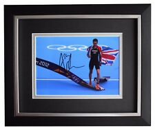 Alistair Brownlee SIGNED 10x8 FRAMED Photo Autograph Display Olympic Triathlon