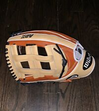 """Wilson A2K 12.75"""" Outfield Glove Left Handed Throw"""