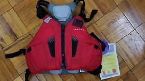 ASTRAL CAMINO with AIRESCAPE PFD LIFE VEST MEDIUM/LARGE - RED