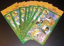 New Disney Tinkerbell Fairies Sticker Sheet Lot Fairies Scrapbook Sticker Lot 10