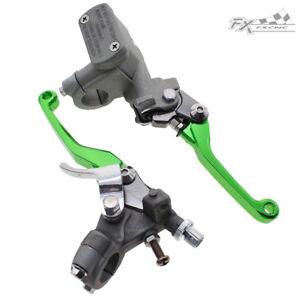 For Honda CRF250R CRF250X CRF450R CRF450X CNC Master Cylinder Brake Clutch Lever