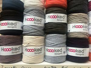 Hoooked Zpagetti Textilgarn T-Shirt-Garn Gummiband *verschiedene Farben
