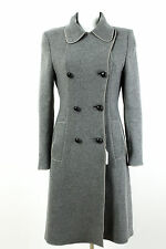 Sportmax Mantel Gr. 40 Wolle-Angora Übergangsmantel Wollmantel Coat