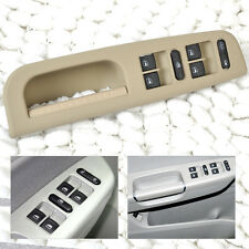 3Pcs Beige Window Master Switch+Panel Bezel+Handle Trim for VW Passat Jetta Golf