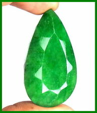 Pear Opaque Loose Emeralds