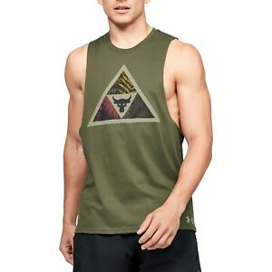 Under Armour Project Rock Mana Tank Breathable Sleeveless T-shirt 1351589-315