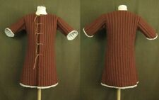 Medieval Celtic Padded Armour Gambeson Brown Sleeves
