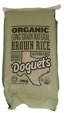 Doguet's Rice-Organic Brown-Long Grain-25 LB-Gluten Free