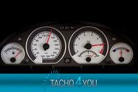Tachoscheiben für BMW 300 kmh Tacho E46 Benzin M3 CARBON 3358 Tachoscheibe km/h