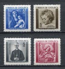 35377) COSTA RICA 1963 MNH** Rubens, Melozzo, Bellini, Odio
