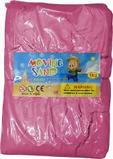 Magic Motion Moving Sand 1kg Play Pen Dry Children Toy Stays Dry PINK