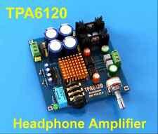 12V-20V Audiophile-level HIFI TPA6120 Headphone Amplifier AMP Board DIY Kit Dual