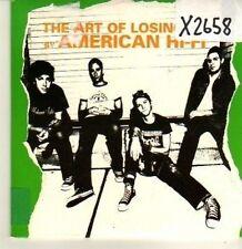 (CP464) The Art Of Losing, American Hi-Fi - 2002 DJ CD