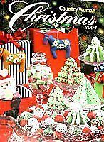 COUNTRY WOMAN CHRISTMAS PREPARATION BOOK GREETINGS 2004 FILLED W WARM MEMORIES