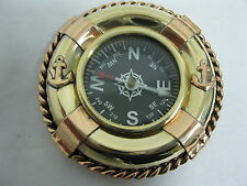 Kompass 70 mm Messing Schiffskompass